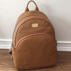 NWT Michael Kors LARGE Abbey Backpack, Acorn